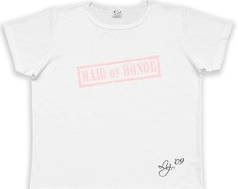 Women's Stamp Series Maid or Matron of Honor T-shirt