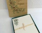 Reserved                 Vintage Stationery Set, Forest Fragrance Note Paper Set