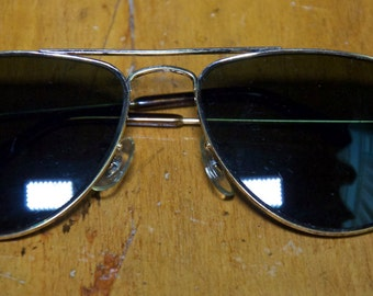 Vintage Authentic Bausch & Lombs Ray Bans Tea Cup Style Avaiators