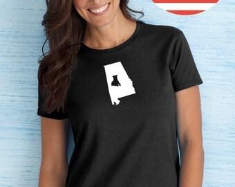 Pitbull Terrier State Women's Tshirt - ANY State- Pitbull Women's T-shirt Tee - Pit Bull Gifts for Her - Pitbull Terrier Tee for Her