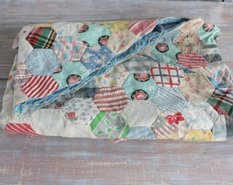 Doll quilt- Free Shipping
