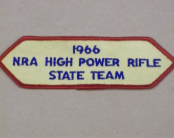 1966 NRA High Power Rifle Patch