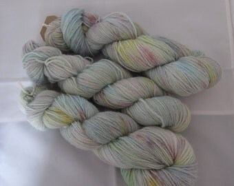 Alpaca Sock - a wool/alpaca/nylon blend yarn- colorway: Pastels