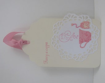 Fancy a Cuppa Tea Tea Cup Tags set of 10 Tea Party Tea Time Bridal Shower Baby Shower