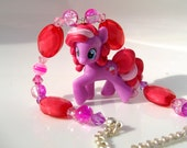Fizzy Pop Pink & Purple My Little Pony Blind Bag Necklace