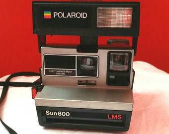 Vintage 1980's Polaroid Sun600 LMS Camera