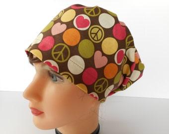 Euro Style Adjustable Pixie Scrub Hat
