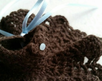 Middie Blythe Dress - Chocolate  Brown.