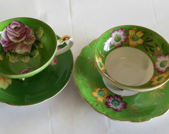 Gorgeous Footed Tea Cups~