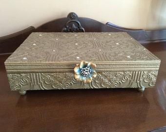Repurposed Silverware Box