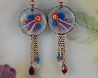 Colorful Fireworks Earrings