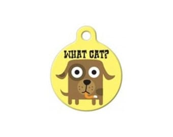Pet ID Tag- What Cat