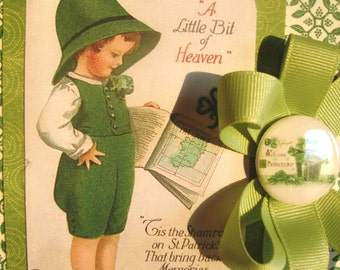 St. Patrick's Day Greeting ~~~ Wearing of the Green~~~