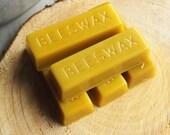 Natural Beeswax Block - Pure Beeswax - Beeswax Bar