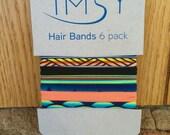 IMSY 6 Pack Hair Ties