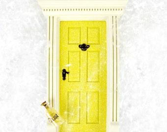 Fairy Door Yellow