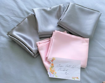 Crepe back Satin Pillow Cases