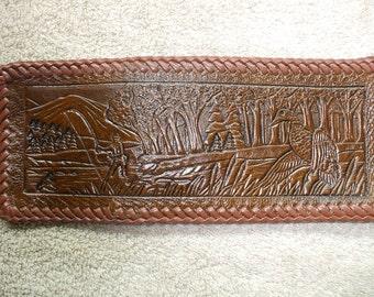 fishing  wallet / billfold, duck billfold. (17) ( ships same day as ordered),