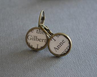 Anne and Gilbert Anne of Green Gables Earrings
