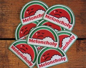 Meloncholy Patch - Embroidered Patch - Iron-on Patch