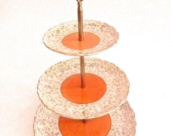 China Cakestand Saji Three Tier Cakestand