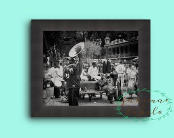 Sousaphone - Jackson Square - Photo Print - 8x10