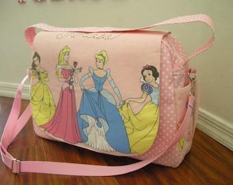 Disney Princess Diaper bag / shoulder and messenger bag