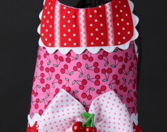 Sweet Cherry Dog Harness