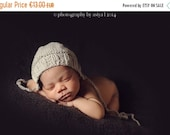 SALE Newborn Photo Prop Bonnet hat- Prop Newborn Hat in MANY SIZES- Ribbed Bonnet Hat- Knit Baby Hat-Many color choices