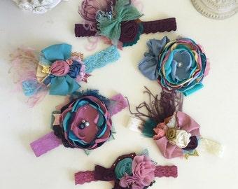 Matilda Jane Headband- Baby Girl Headband- Baby Headbands- FlowerHeadband- Once Upon a Time- m2m- Newborn Headband