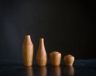 Set of Four Cherry Stickvases