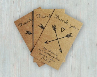 Product Tags - Customized Kraft Cards - Etsy Shop Tags - Business Cards Printed