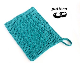 Crochet Bath Mitt Pattern / Wash Mitt / Wash Glove / Shower Mitt / Spa Mitt / Crochet Pattern