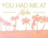 Custom Aloha Beach Backdrop for Kelli