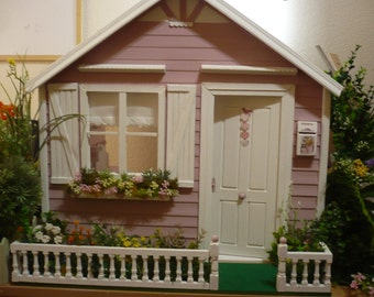 Dollhouse decorated.1:6 for blythe, pullip, momoko, barbie, licca, azone, pure neemo etc