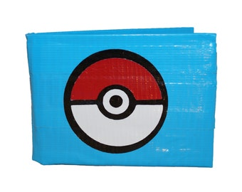 Pokeball Duct Tape Wallet