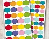 Rainbow Frames 001, Set of 28 or 50