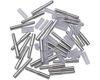 BEADALON PEG and FASTNER Set (Pkg of 20) for Artistic Wire 3-D Bracelet Jig