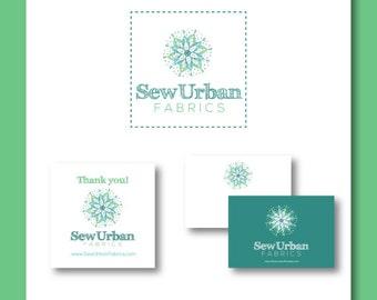 Print Marketing Package - Custom Logo, Post Card, and Sticker Designs