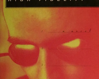 High Fidelity - Nick Hornby (first edition)