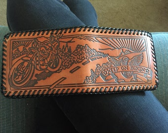 Tooled chopper wallet