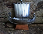 Pewter Viking Ship
