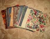 100 Cotton Fabric 5  Inch  Squares - 100% Cotton