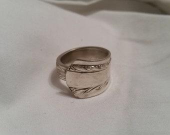 Spoon Ring, Silverware Ring, Silverware Jewelry, Spoon Jewelry, Vintage