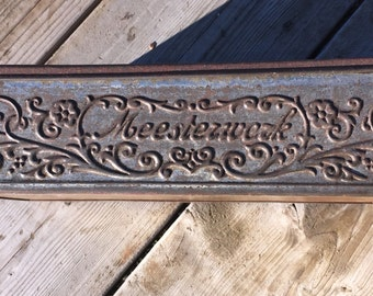 Very Old German or Dutch Chocolate/Candy Box