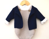 Spring into Summer, baby onesie and jacket - P095