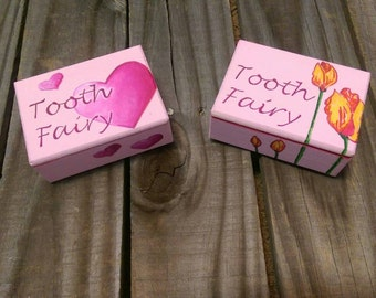 Tooth Fairy Boxes- boxes- custom boxes- small boxes- custom tooth fairy box- tooth fairy