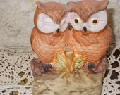 Darling Owl Couple Night Light /Not included in Coupon Sale / New Listing :)Siof