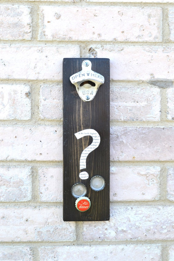Question mark decor ampersand decor symbol wall hangings for Ampersand decor