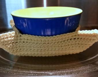 Crochet Microwave Bowl Hugger